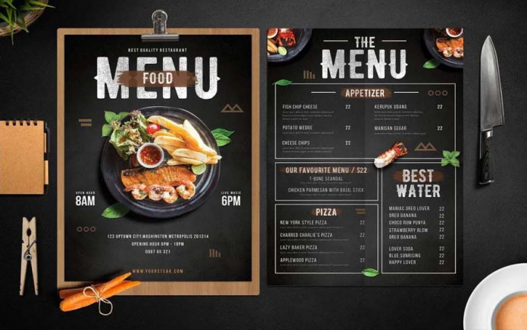 How Menu Printing Strategies Help Develop Your Food Business